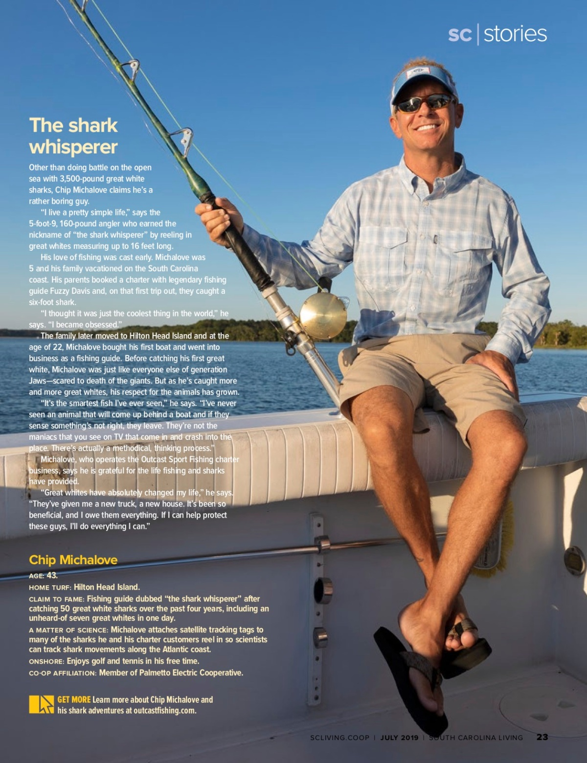 Getting to know South Carolina's sharkwhisperer