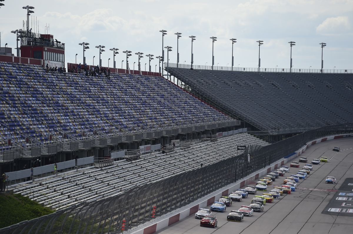 Surreal silence at track for one NASCAR crewmember