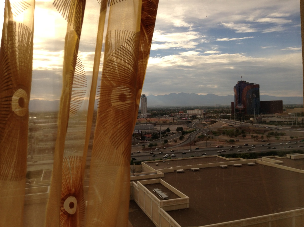 An early morning inVegas